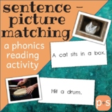 Sentence-Picture Matching Cards