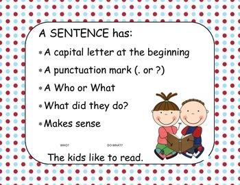 Sentence Poster