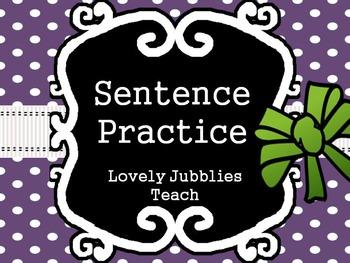 Sentence Practice: Capitalization