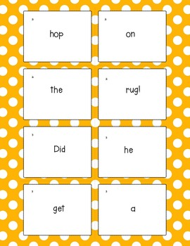 Sentence Practice With CVC Words Freebie