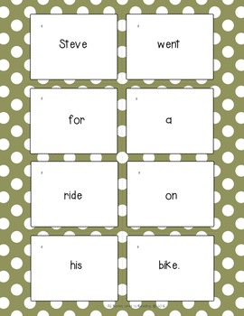 Sentence Practice With VCVE words (Silent e)