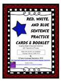 Sentence Scramble Cards (present & past tense verbs) [FREE]