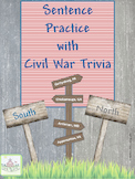 Sentence Practice with Civil War Trivia