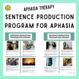 Sentence Production Program Aphasia (SPPA): Adult Speech Therapy
