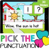 Sentence Punctuation with CVC Words Kindergarten Reading G