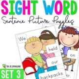 Sight Word Sentence Puzzles Primer {Part 3}