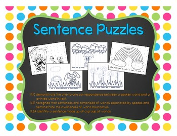 Sentence Puzzles: Spring Edition
