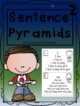 Sentence Pyramids 2
