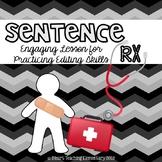 Sentence Review Activity- Sentence RX