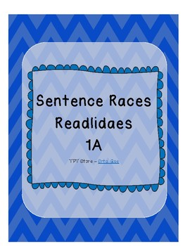 Sentence Races (Realidades 1 - 1A)