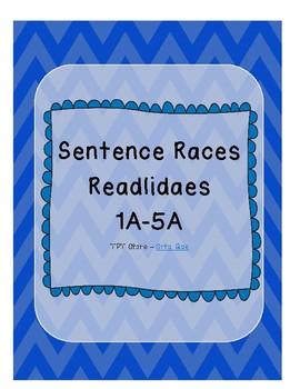 Sentence Races (Realidades 1 - 1A - 5A)
