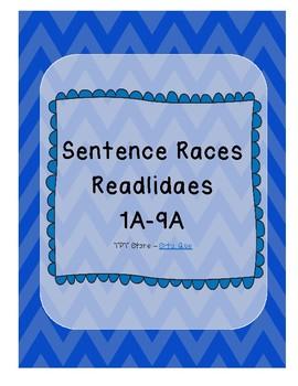 Sentence Races (Realidades 1 - 1A - 9A)
