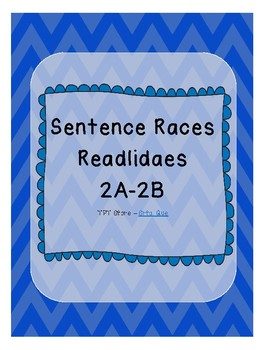 Sentence Races (Realidades 1 - 2A - 2B)