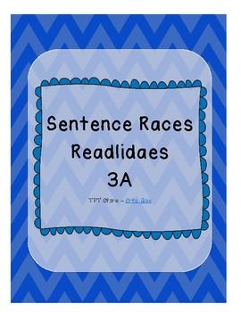 Sentence Races (Realidades 1 - 3A)