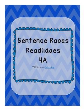 Sentence Races (Realidades 1 - 4A)