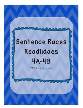 Sentence Races (Realidades 1 - 4A-4B)