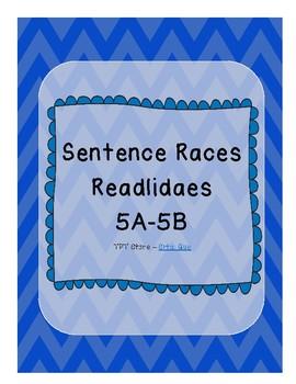 Sentence Races (Realidades 1 - 5A-5B)
