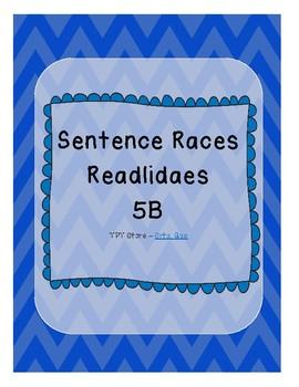 Sentence Races (Realidades 1 - 5B)