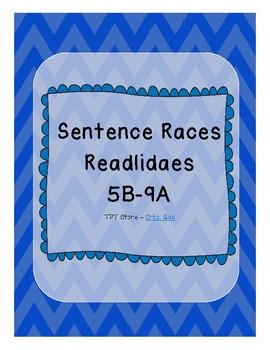 Sentence Races (Realidades 1 - 5B - 9A)