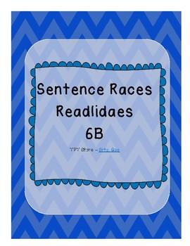 Sentence Races (Realidades 1 - 6B)