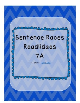 Sentence Races (Realidades 1 - 7A)