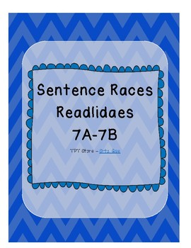 Sentence Races (Realidades 1 - 7A-7B)
