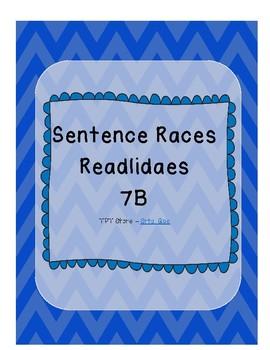 Sentence Races (Realidades 1 - 7B)