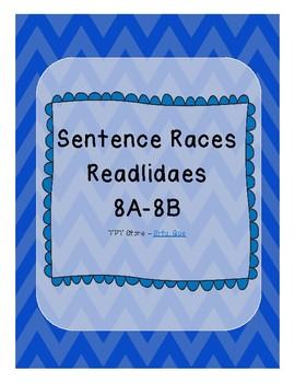 Sentence Races (Realidades 1 - 8A-8B)