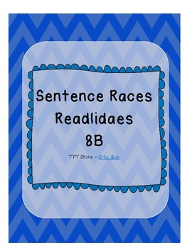 Sentence Races (Realidades 1 - 8B)