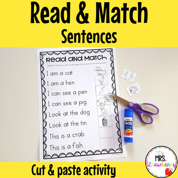 Sentence Read and Match