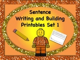 Sentence Reading, Writing, and Building Set 1 - 55 Printab