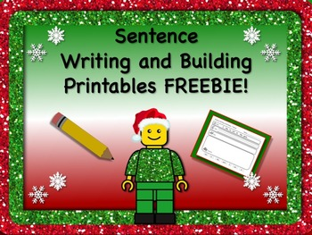 Sentence Reading, Writing, and Building Printable Worksheets FREEBIE!! NO PREP!!