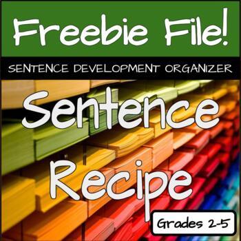 Sentence Recipe Template