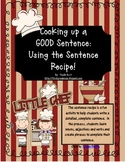 Sentence Recipe Word Work Packet