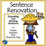 Sentence Renovation - Activity Sheets