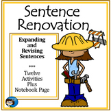 Sentence Renovation - Activity Sheets