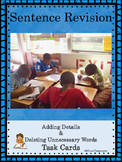 Sentence Revision Task Cards