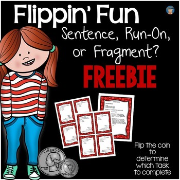 Sentence, Run-On, or Fragment FREEBIE