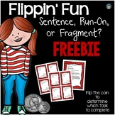 Sentence, Run-On, or Fragment FREEBIE