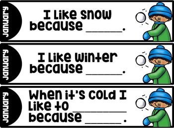 Sentence STEMS for Young Writers