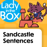 Sentence Sandcastles with Lola - Boom Cards