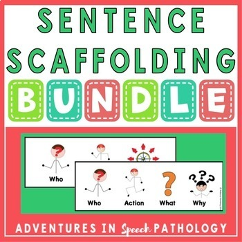 Sentence Scaffolding Bundle