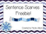 Sentence Scarves {Freebie!}