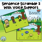 Sentence Scramble 2, With Voice Support, Distance Learning