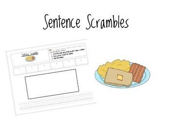 Sentence Scramble