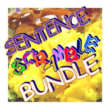 Sentence Scramble Activity Bundle