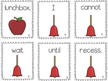 Sentence Scramble: Back to School Edition
