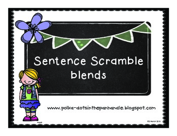 Sentence Scramble Blends