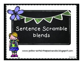 Sentence Scramble Blends