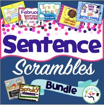 Sentence Scramble Bundle